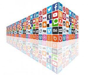 SocialMediaConceptWall