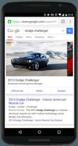 Google Carousel Dodge Challenger 2