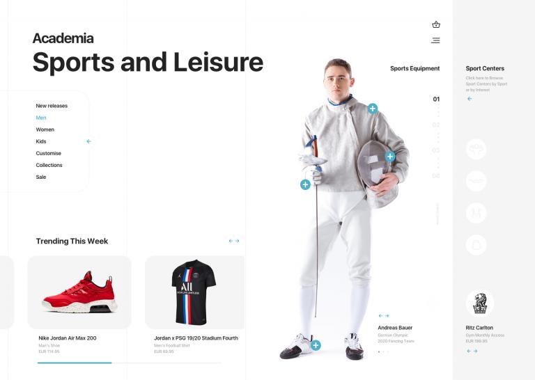 Academia Sport Equipment